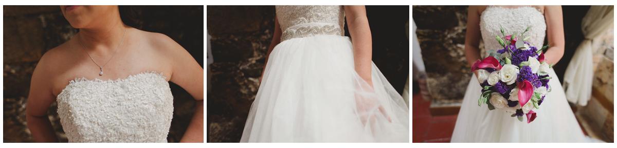 Boda en Hacienda Santa María Regla-vestido de novia